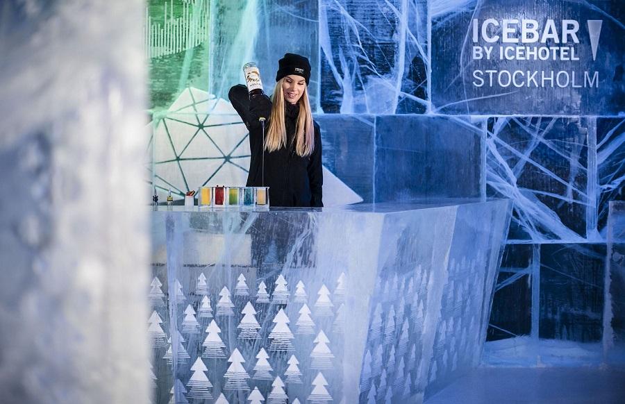 Schönte Orte Skandinavien - Nr. 1: Die Absolut IceBar in Stockholm