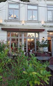 Zur Ergänzung des Textes. Fassade des Restaurants Markt 17 in Eutin.