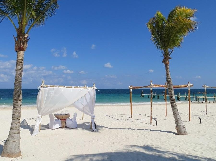 Zur Ergänzung des Textes. Eindrücke vom Hotel Dreams Riviera Cancun Resort & Spa