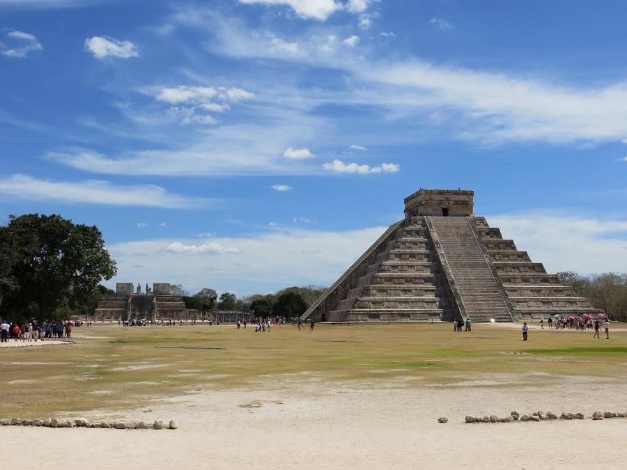 Zur Ergänzung des Textes. Blick auf Chichén Itzá.