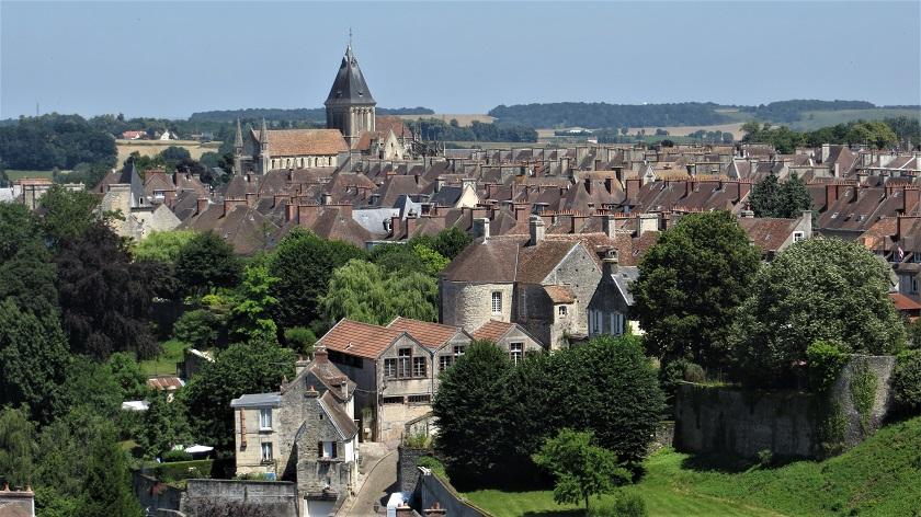 Normandie Sehenswürdigkeiten: Ausblick von der Burg Falaise