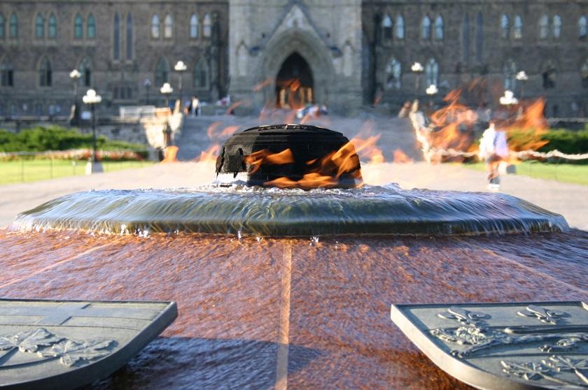 Centennial Flame, Parliament Hill, Ottawa, Kanada