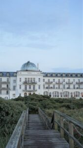 Insel Juist Strandhotel Kurhaus Juist